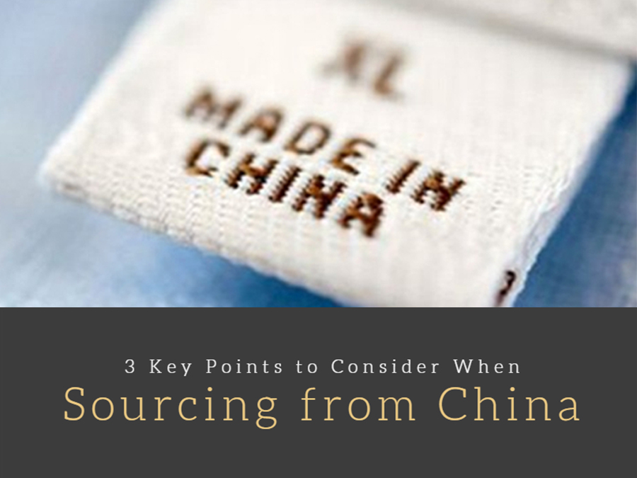 3 Key Points to Consider When Sourcing from China